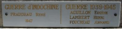 Coussay MM plaque Indochine