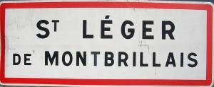 plaque St Leger de Montbrillais