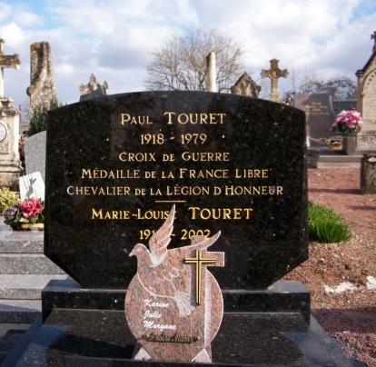 Tombe Paul Touret